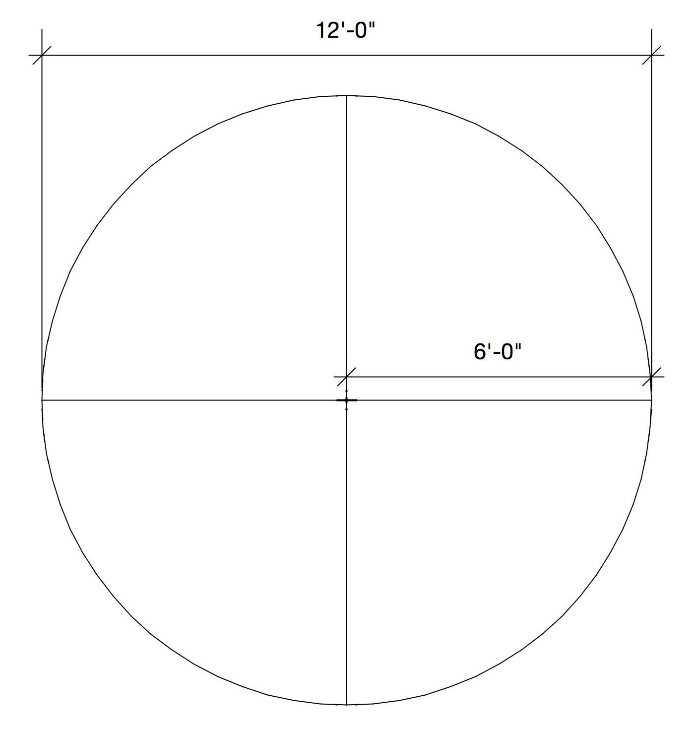 6'x6' Quadrant