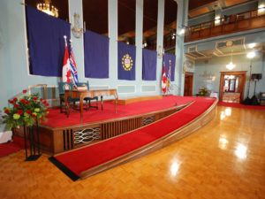Custom Built Staging: Proshow - Government House Ramp