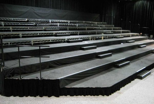 AVW TELAV - Bleachers & Staging
