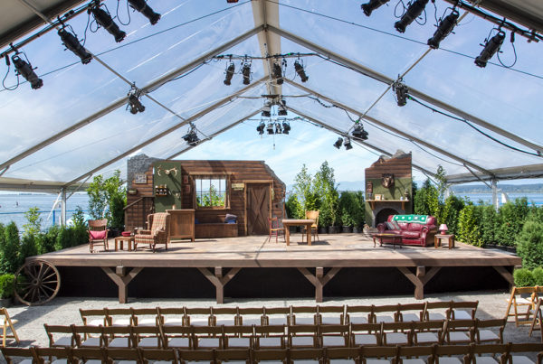 Beach House Theatre - Stage