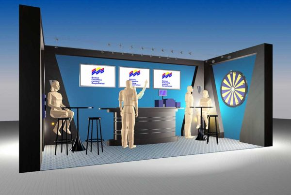Eclipse - BCLC Booth Rendering