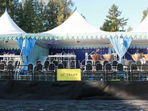 Custom Built Staging: Sarah McLachlan Foundation - Fundraising Concert