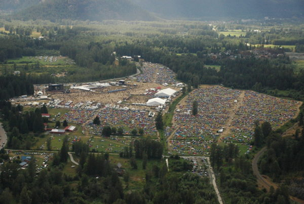Live Nation Canada - Pemberton Festival Aerial