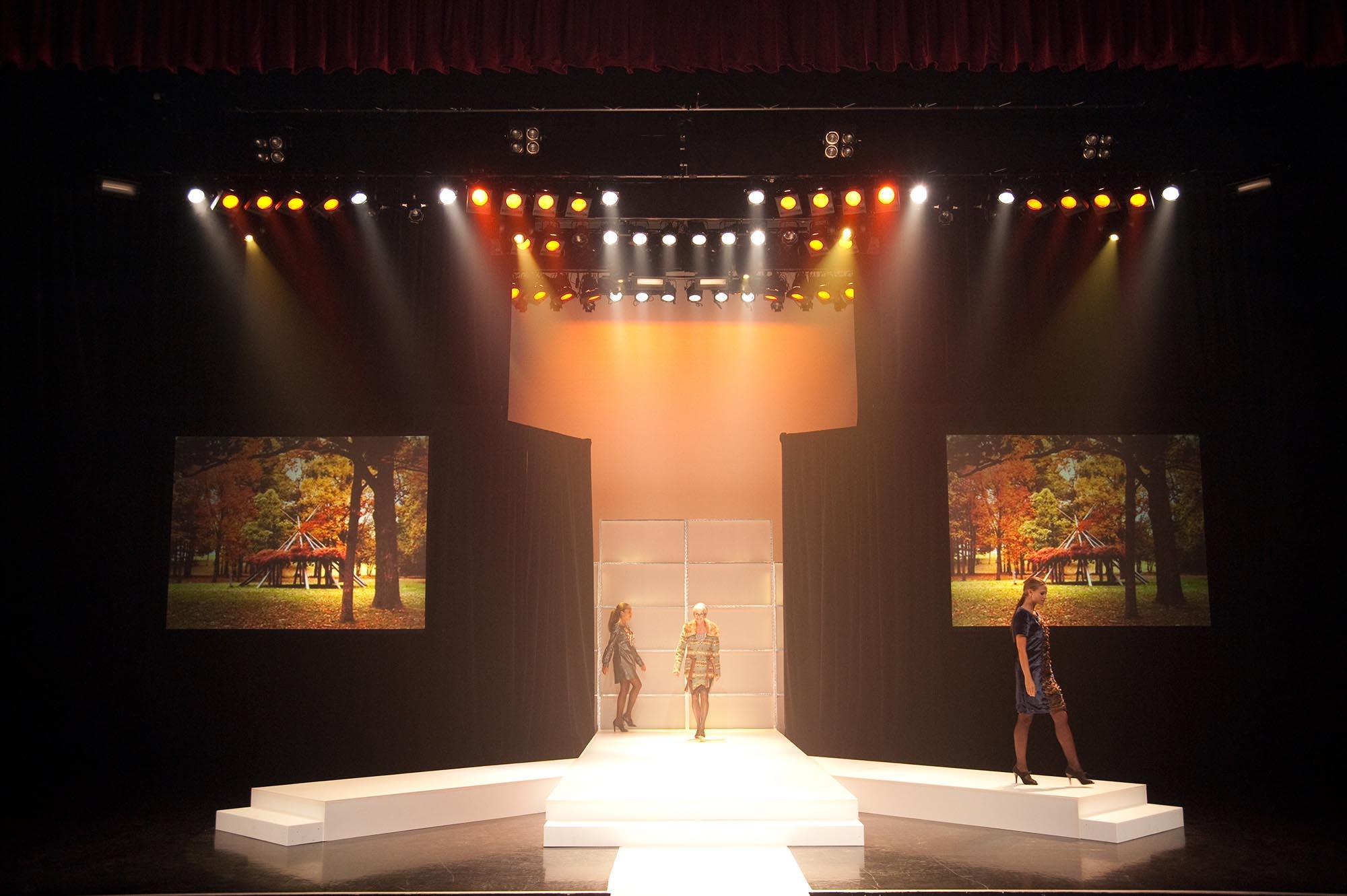 Kwantlen Fashion Show Scene Ideas
