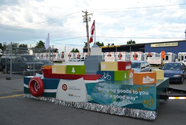 Port Metro Vancouver - Parade Float