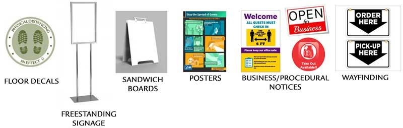 custom print and signage