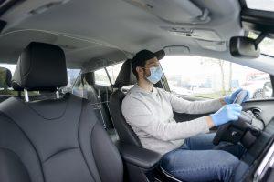 Car Sneeze Guard Barrier