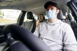 Passenger Driver Protective Sneeze Guard Barrier